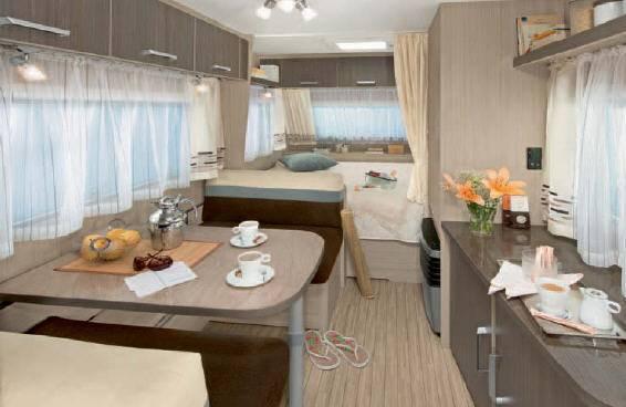 Dethleffs NEW LNE 420-HK - Interior