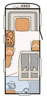 Dethleffs Nomad 540 RFT - Plano - Distribución