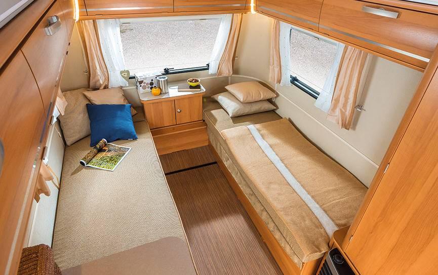 Eriba TOURING Triton 410 - Interior
