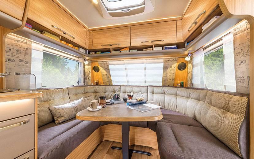 Eriba NOVA GL 590 - Interior