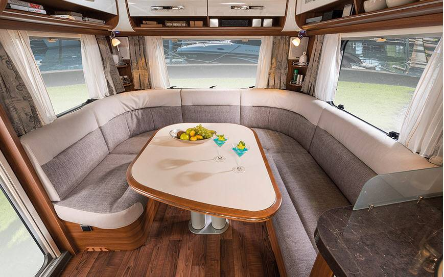 Eriba NOVA S 545 - Interior