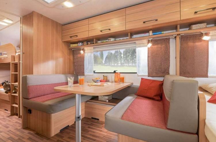 Eriba Living 574 - Interior
