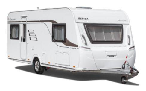 Eriba Exciting 400 - Exterior