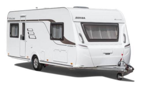 Eriba Exciting 540 - Exterior