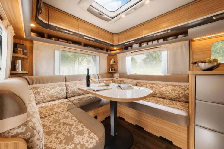 Eriba Exciting 540 - Interior