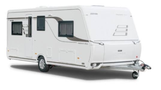 Eriba Nova SL 545 - Exterior