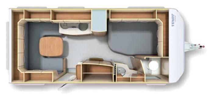 Fendt OPAL 495 SFB - Plano - Distribución