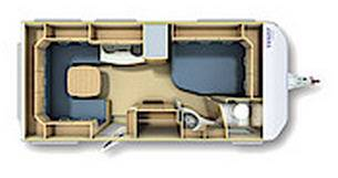 Fendt Saphir 465 SFB - Plano - Distribución
