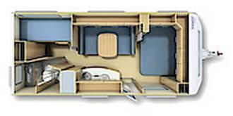 Fendt Saphir 560 SKM - Plano - Distribución