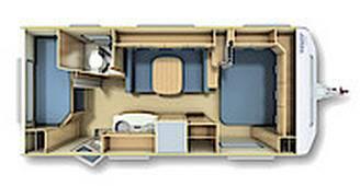Fendt Saphir 560 TFK - Plano - Distribución