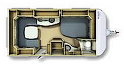 Fendt Bianco 445 TBF - Plano - Distribución