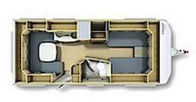 Fendt Bianco 515 SG - Plano - Distribución