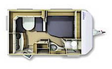 Fendt Bianco Selection 390 FH Sportivo - Plano - Distribución