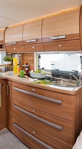 Fendt Opal  520 SFB - Interior
