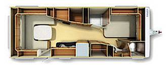 Fendt Brillant 700 TFD - Plano - Distribución