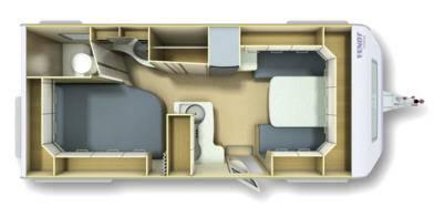 Fendt Bianco Selection 495 SFE - Plano - Distribución