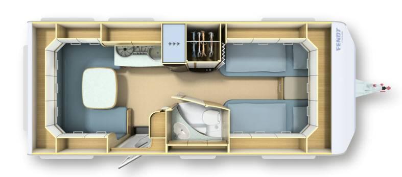 Fendt BIANCO SELECTION 515 SG - Plano - Distribución