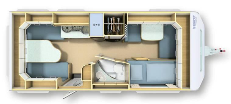 Fendt BIANCO SELECTION 515 SKE - Plano - Distribución