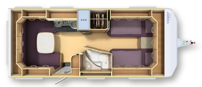 Fendt TENDENZA 515 SG - Plano - Distribución
