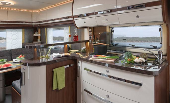 Fendt OPAL 465 SFB - Interior
