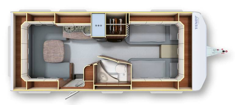 Fendt OPAL 515 SG - Plano - Distribución