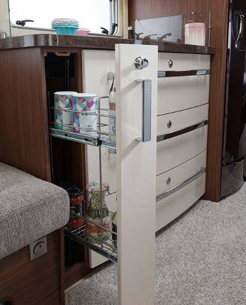Fendt OPAL 550 SG - Interior