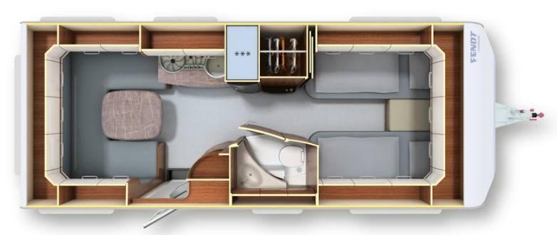 Fendt OPAL 550 SG - Plano - Distribución