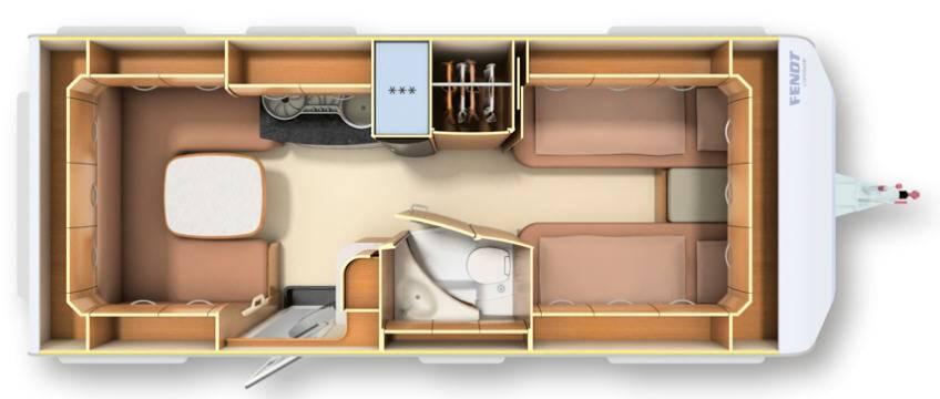 Fendt DIAMANT 550 SG - Plano - Distribución