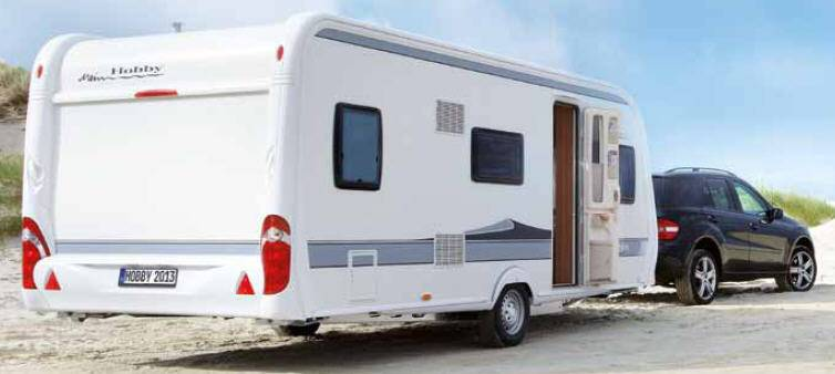 Hobby DELUXE 400 SF - Exterior