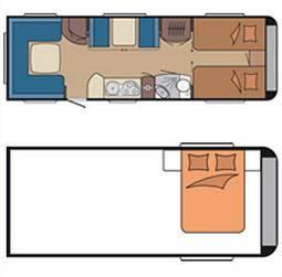 Hobby PREMIUM 560 WLU - Plano - Distribución