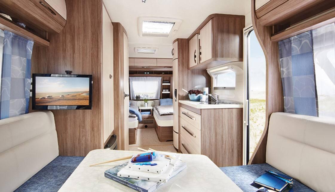 Hobby LUXE EASY 540-UL - Interior