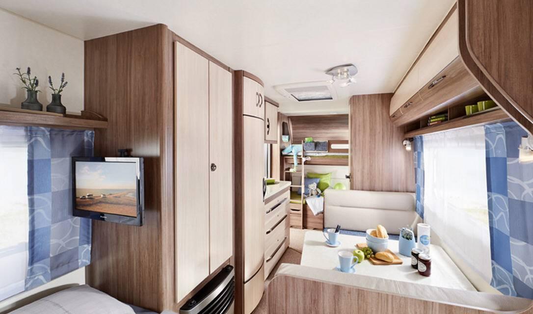 Hobby LUXE EASY 560-CFE - Interior