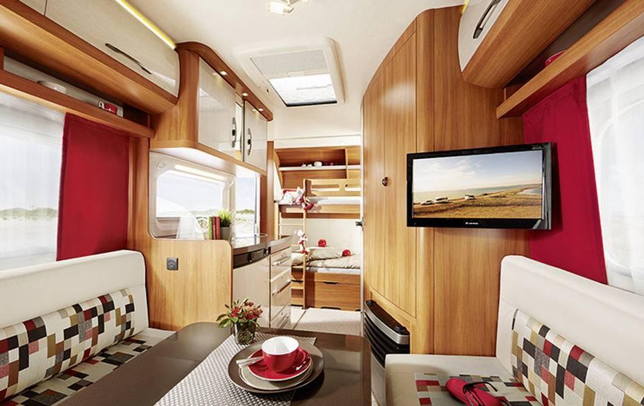 Hobby ON TOUR 360-KB - Interior