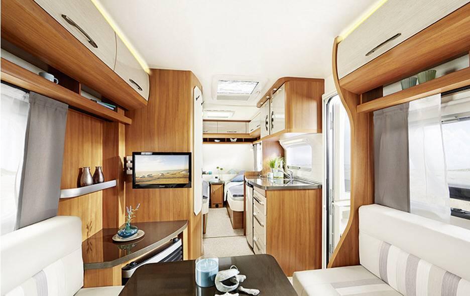 Hobby ON TOUR 470-KMF - Interior