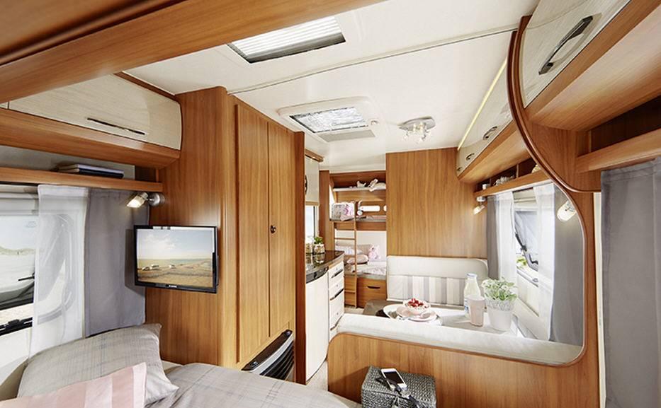 Hobby ON TOUR 490-SFF - Interior