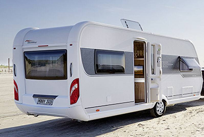 Hobby DELUXE 400-SF - Exterior