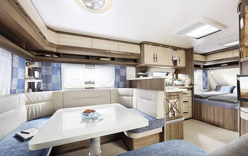 Hobby DELUXE 400-SF - Interior