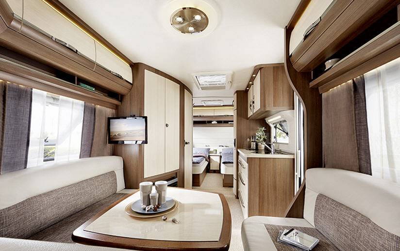 Hobby PRESTIGE 560-UL - Interior
