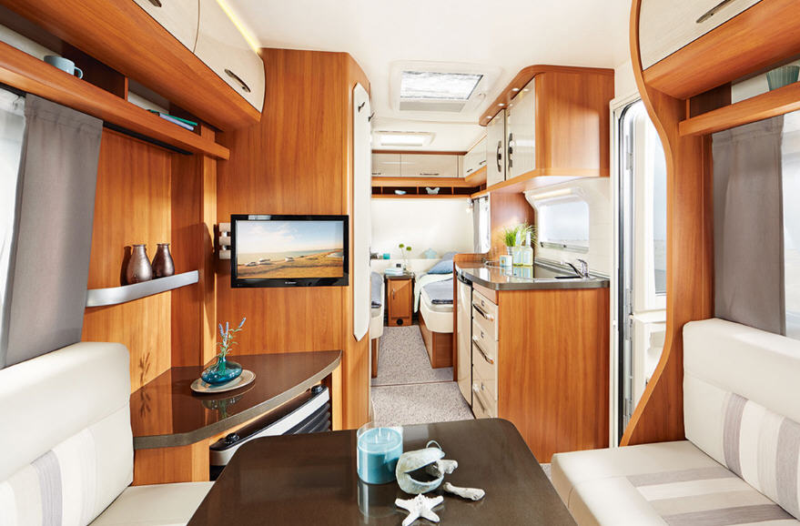 Hobby ONTOUR 460 HL - Interior