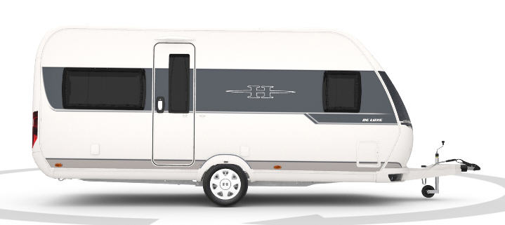 Exterior del modelo Hobby De Luxe 455 Uf