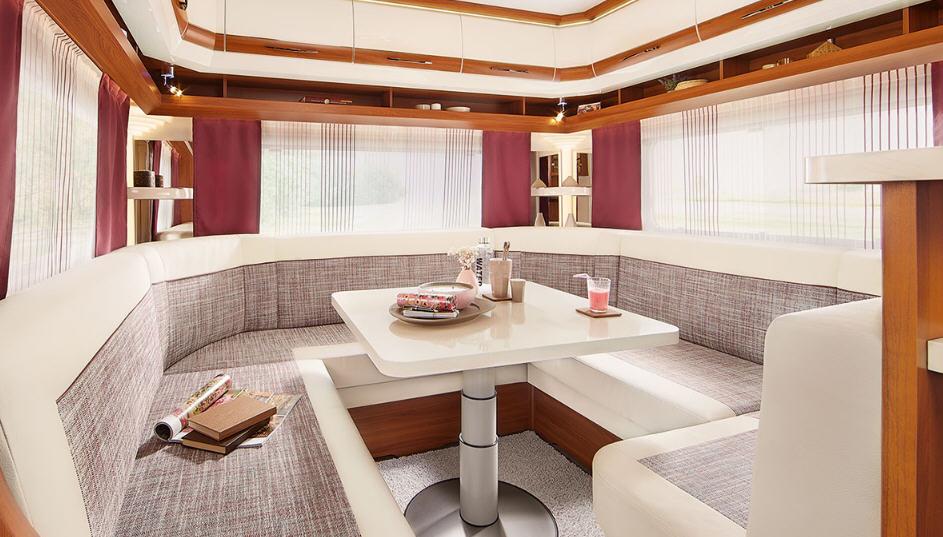 Hobby DE LUXE 455 UF - Interior