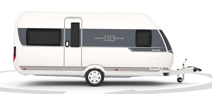 Exterior del modelo Hobby De Luxe 460 Lu