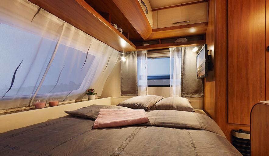 Hobby DE LUXE 440 SF - Interior
