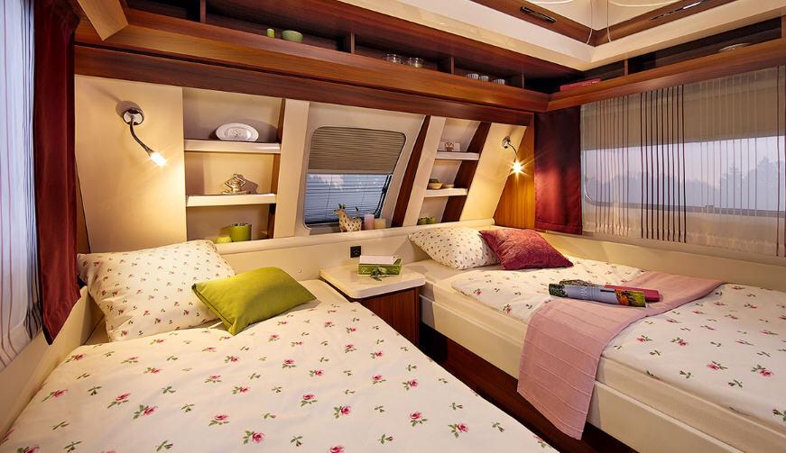 Hobby DE LUXE 460 LU - Interior