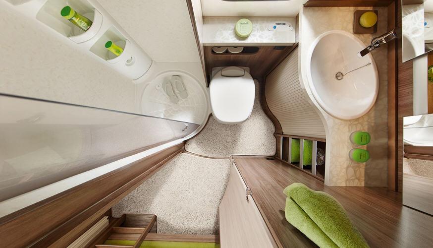 Hobby DE LUXE 490 KMF - Interior