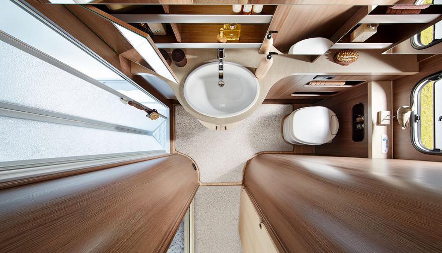 Hobby PRESTIGE 540 UFE - Interior