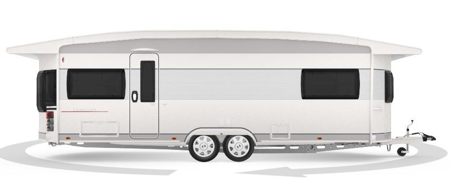 Hobby LANDHAUS 770 CFF - Exterior