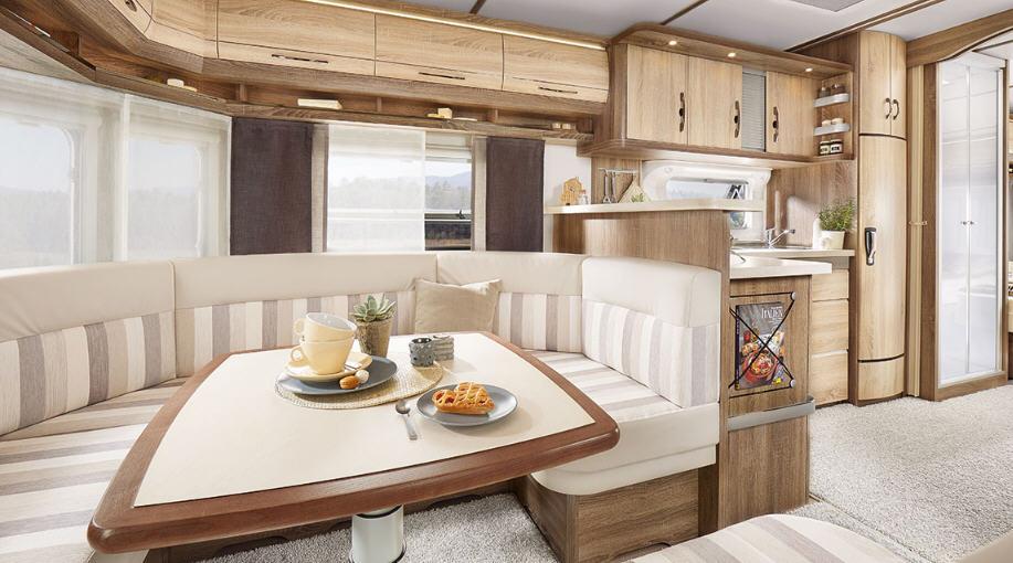 Hobby LANDHAUS 770 CL - Interior