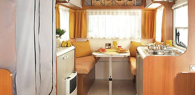 Knaus DESEO Box 250L - Interior