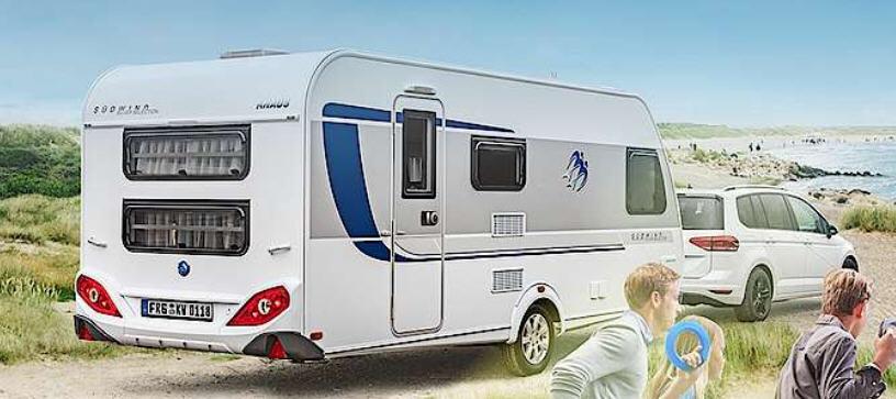 Exterior del modelo Knaus Sw Silver Selection 450 Fu Silverselection